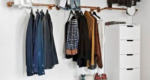 Clothing Storage, Diy Clothes Storage, Clothing Racks, No Closet Bedroom,  Clothes Rack