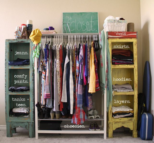 10 Clothing Storage Solutions…Perfect for Every Space | Reclaiming Your  Castle