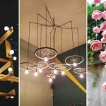 Modern and stylish diy chandelier ideas