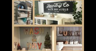Laundry Room Decor Ideas - DIY Home Decorations