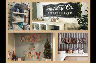 Laundry Room Decor Ideas - DIY Home Decorations