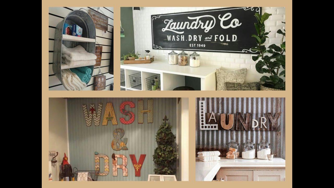 Tips for unique diy laundry room decor   ideas: