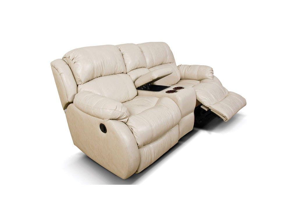 201090L Litton Double Rocking Reclining Loveseat Console