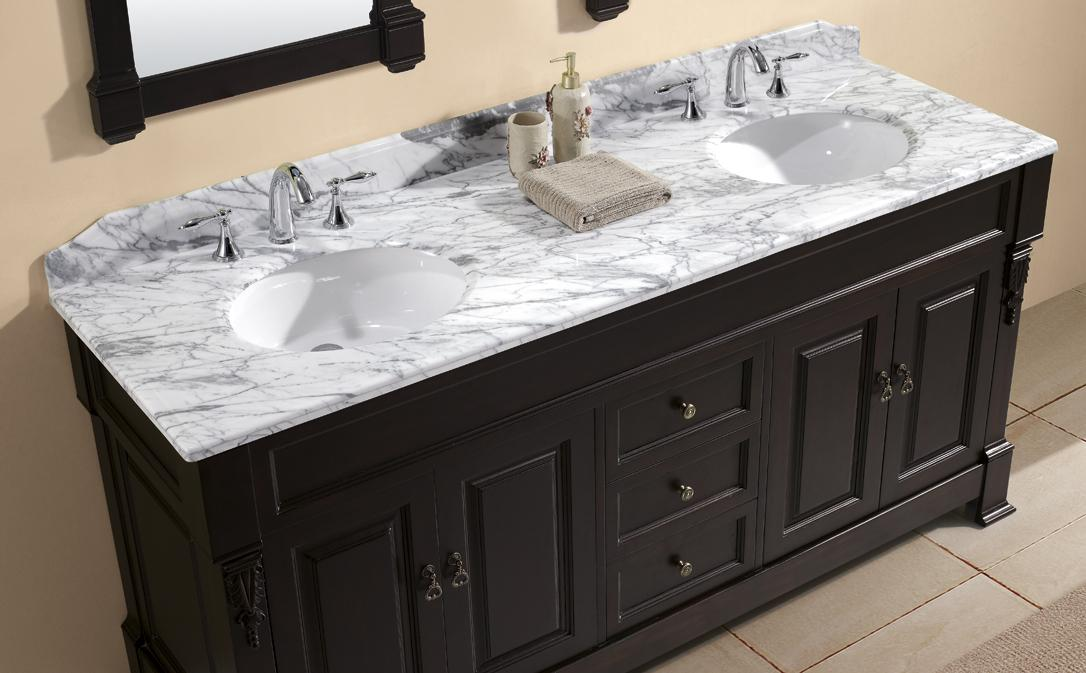 Easy 48 Inch Double Sink Bathroom Vanity Top 20 About Remodel Inspiration  To Remodel Bathroom Sinks