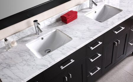 72 Vanity top Double Sink
