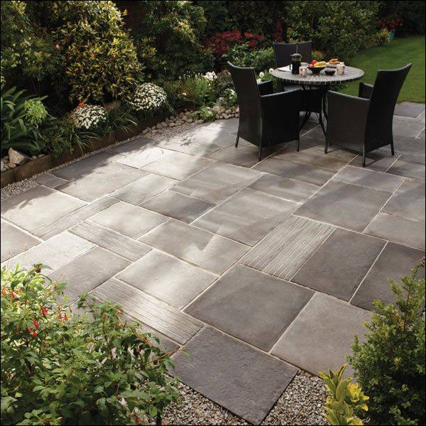 An Easy Do It Yourself Patio Design Pared to Pavers Save Big Inspirational  Of Simple Concrete