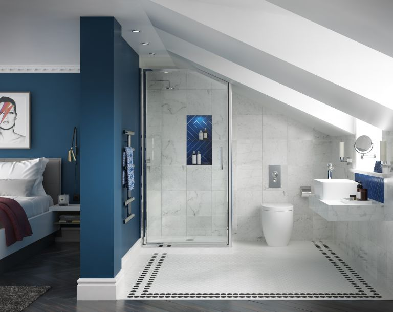 Contemporary en suite bathrooms in loft   conversions