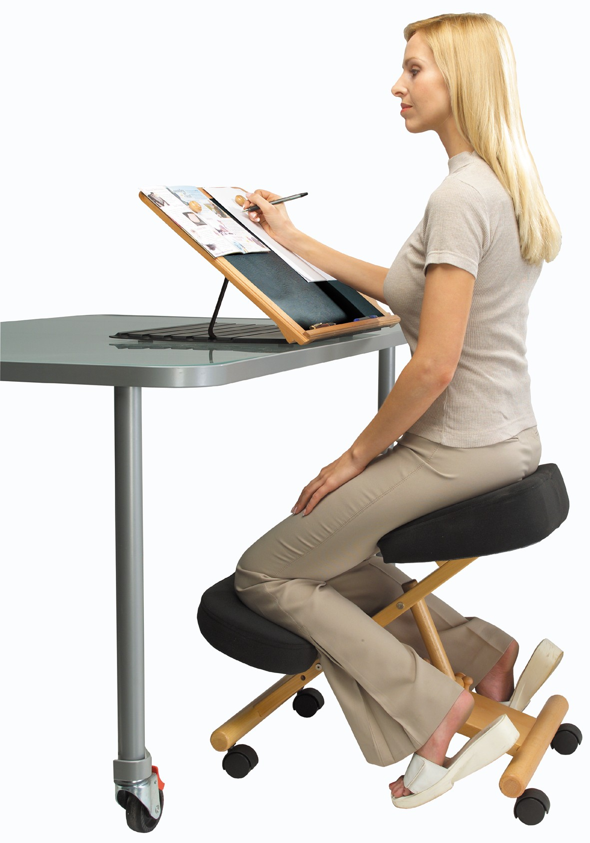 Kneeling Posture Chair Ergonomic Kneeling Posture Office Chair Cryomats
