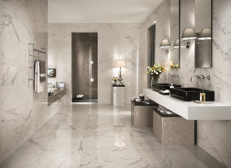 Exclusive bathroom tiles for a designer   bathroom