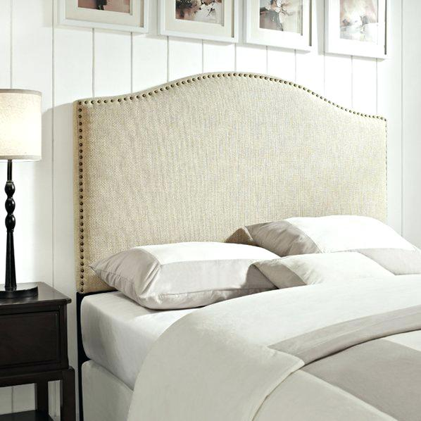 fabric headboard upholstered