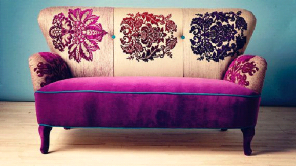 Fabric Patterned Sofas Popular Latest With Floralfabricsofa