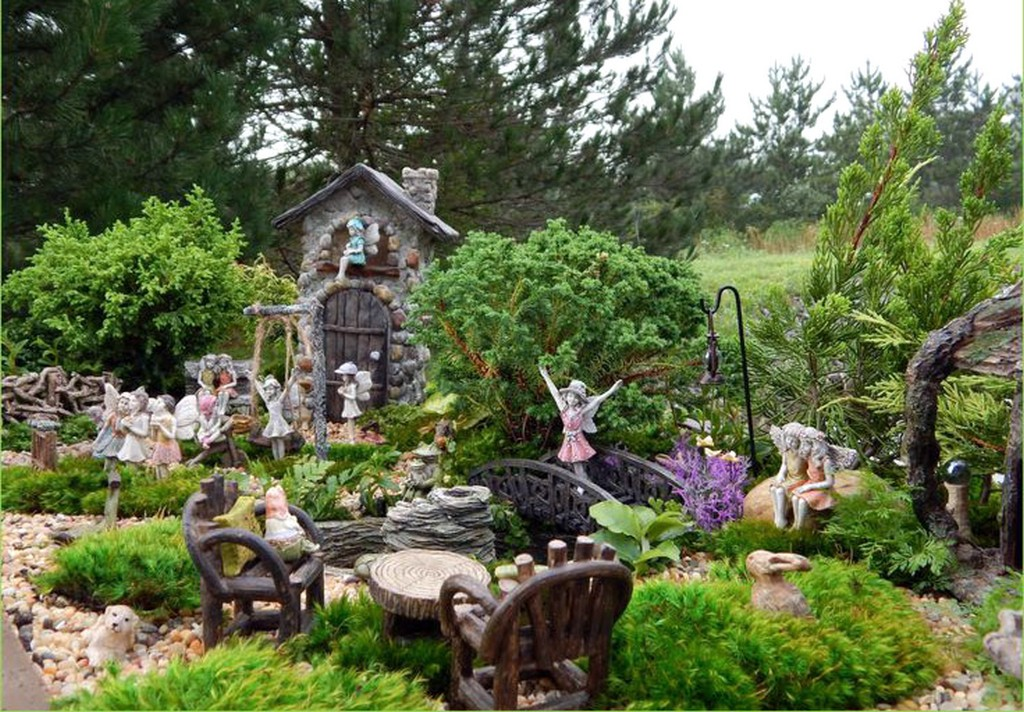Cool Fairy Garden Ideas Landscaping