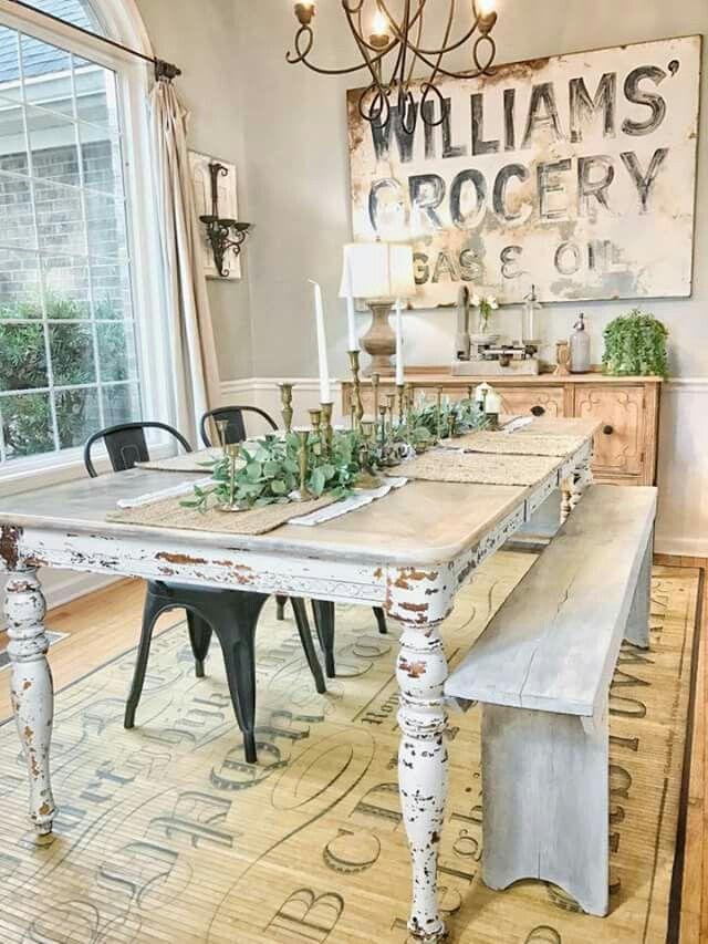 Exquisite Corner Breakfast Nook Ideas in Various Styles #BreakfastNookIdeas  #CornerBreakfastNookIdeas Farmhouse Dining Rooms,