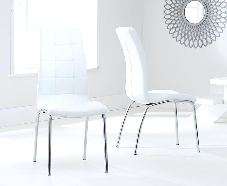 Contemporary Faux Leather Dining Chairs Wonderful Upholstered Dining