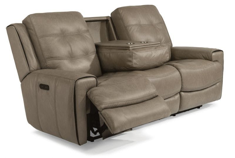 Lucas Power Headrest Reclining Sofa and Loveseat