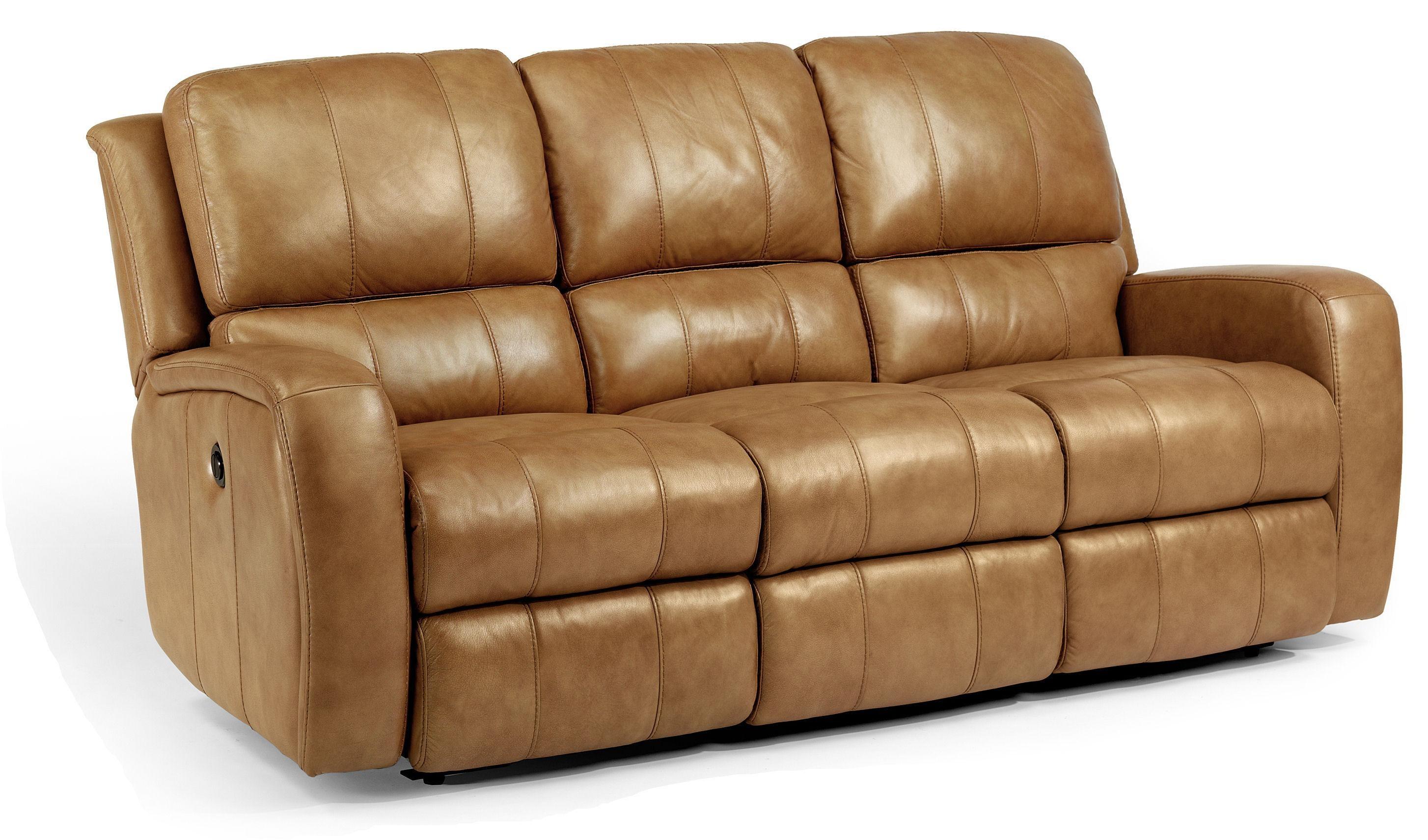 Flexsteel Latitudes-HammondDouble Reclining Sofa w/ Power