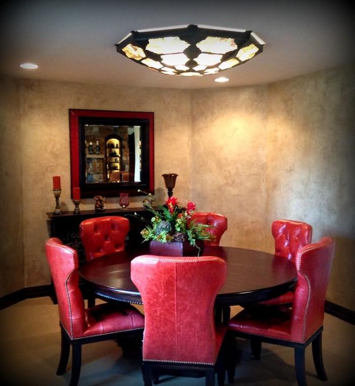 Something for your modern flush mount   dining room light fixtures