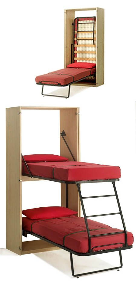 11 Space Saving Fold Down Beds for Small Spaces, Furniture Design