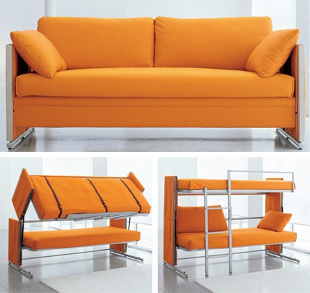 Sofa Converts to Bunk Beds -Craziest Gadgets