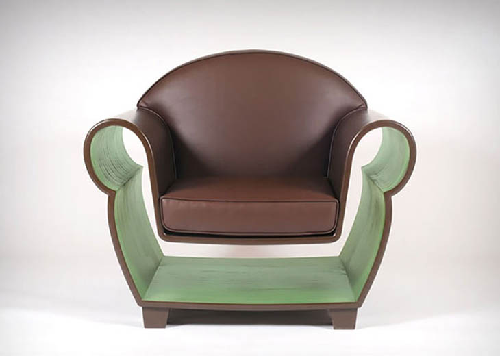 Hollow Chair. Space-Saving Creative Furniture Design