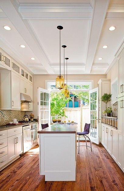 Have a wonderful and stylish galley   kitchen with island remodel ideas