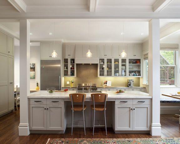 Galley Kitchen With Island Designs - Traveller Location