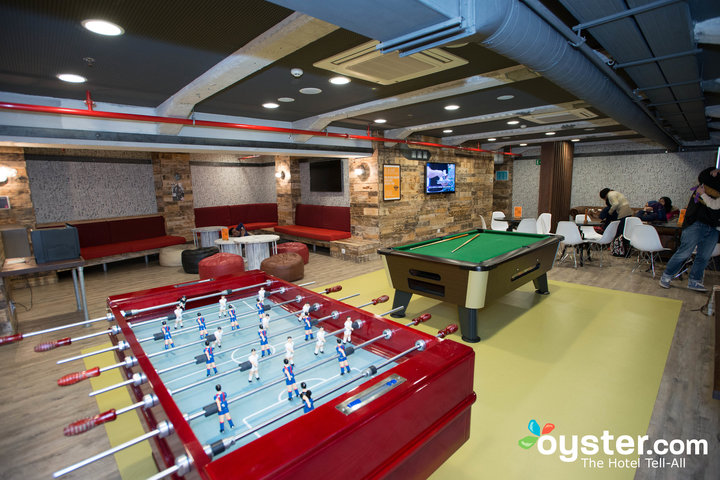 Reading and Games Room at the Generator Hostel Barcelona