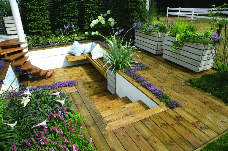 By Anna Cottrell November 01, 2018. Looking for decking design ideas for a  small garden?