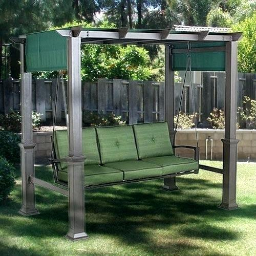 Outdoor Swings For Adults With Canopy Best Patio Swing Chair Glider