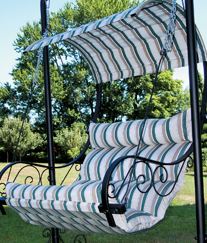 Patio Swing with Canopy - Outdoor Garden Swings