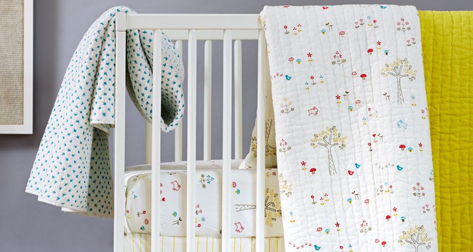 Gender neutral crib bedding ideas? Reader Q + A - Cool Mom Picks