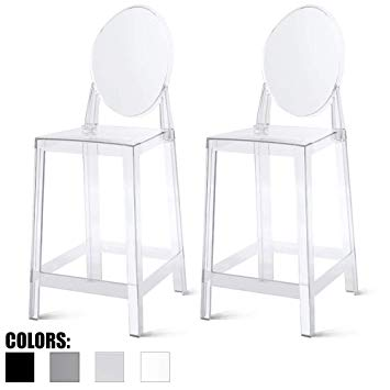 Amazon.com: 2xhome Set of Two (2) - Clear - 25