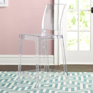 Clear Acrylic Ghost Bar Stools | Wayfair