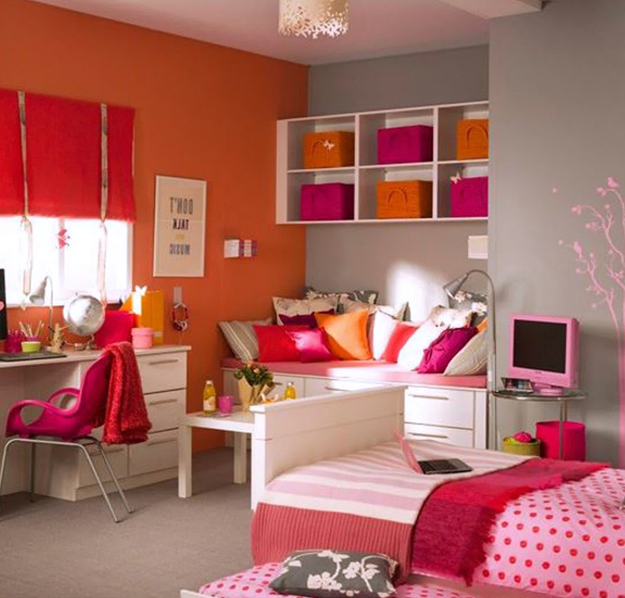 Icon Home Girl Room Ideas For Small Rooms Designs Apartments  Efficiently Arrange Final Touch Renovate Fresh