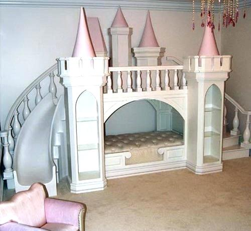 Princess Bed With Slide Princess Bed With Slide Girls Bunk Beds With