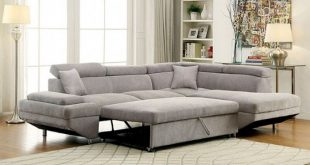 Foreman Gray Sectional Sofa - CM6124GY Description : Sweet relaxation is  all yours with this versatile sectional sofa. Enjoy lounging in its cu…