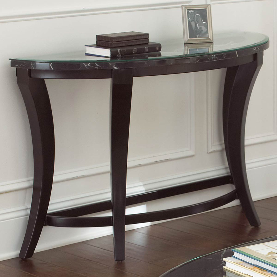 Sofa Table, Amusing Half Moon Sofa Table Console Black Ideas: Amusing half  moon sofa