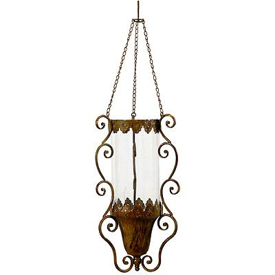 Wrought Iron Hanging Candle Holder Chandelier - - Amazon.com