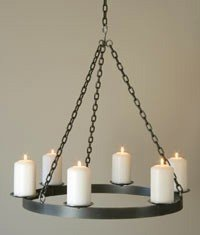 Pillar Candle Chandelier - Ideas on Foter