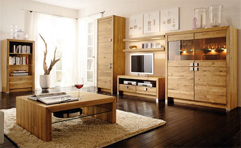Home Decor Ideas: Wood Furniture to Create A Stylish Modern Interior