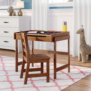 Desk and Chair Set Kids Desks You'll Love | Wayfair
