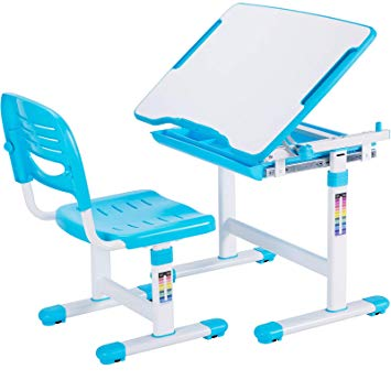 Amazon.com: VIVO Height Adjustable Childrens Desk & Chair Set | Kids