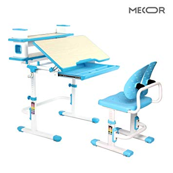 Amazon.com: Mecor Kids Desk and Winged Backrest Chair Set