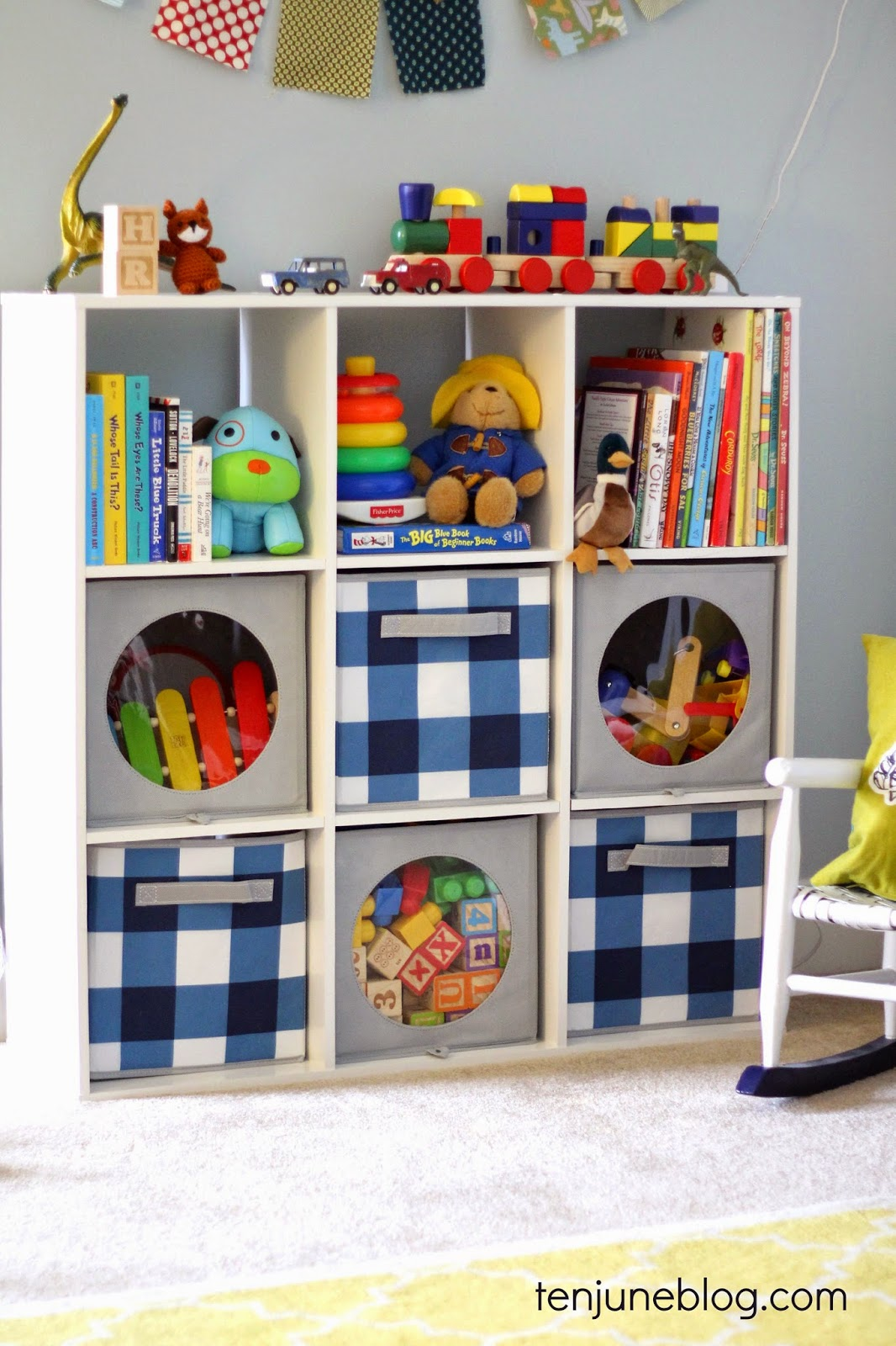 Kids Room/Play Room Toy Storage Ideas