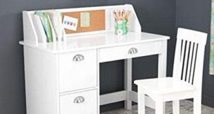 Traveller Location: Kids Desk With Chair And Storage Set - Activity Study Writing  Table With Hutch Corc Bulletin Board And File Organizer - Toddler Room  Furniture