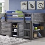 kids twin loft bed with storage – only   for kids