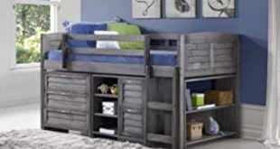 Image Unavailable. Image not available for. Color: Custom Kids Furniture  Grey Twin Loft Beds