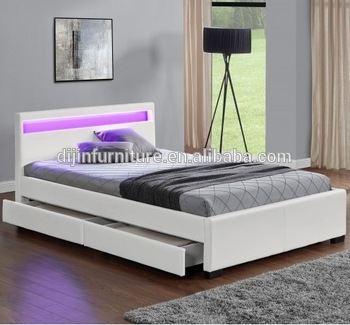 king size double bed with storage or a   queen size double bed gives a royal touch to your bedroom