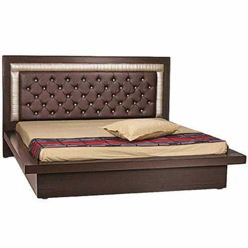 Wood King Size Wooden Double Bed