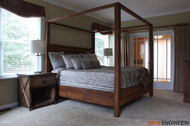 Canopy Bed – King Size